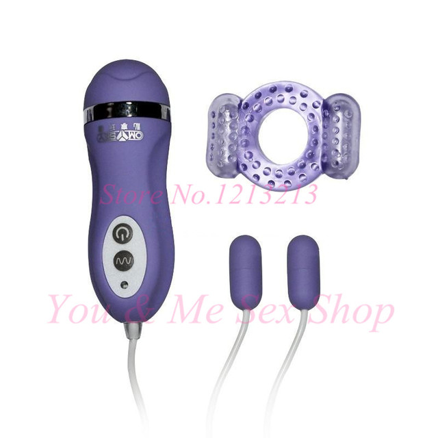 Unisex Products Omysky Durable Player 10 Speed Dual Vibrating Love Eggs Delay Lasting Cock Rings Vibrating Penis Rings Sex Toys