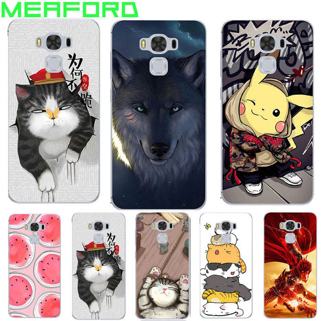 new style ad384 4eb8f US $4.99  For Coque Asus ZenFone 3 Max ZC553KL Case Cool Cartoon Silicone  Back Case For Asus Zenfone 3 Max ZC553KL Cover TPU Soft 5.5 Capa-in Fitted  ...