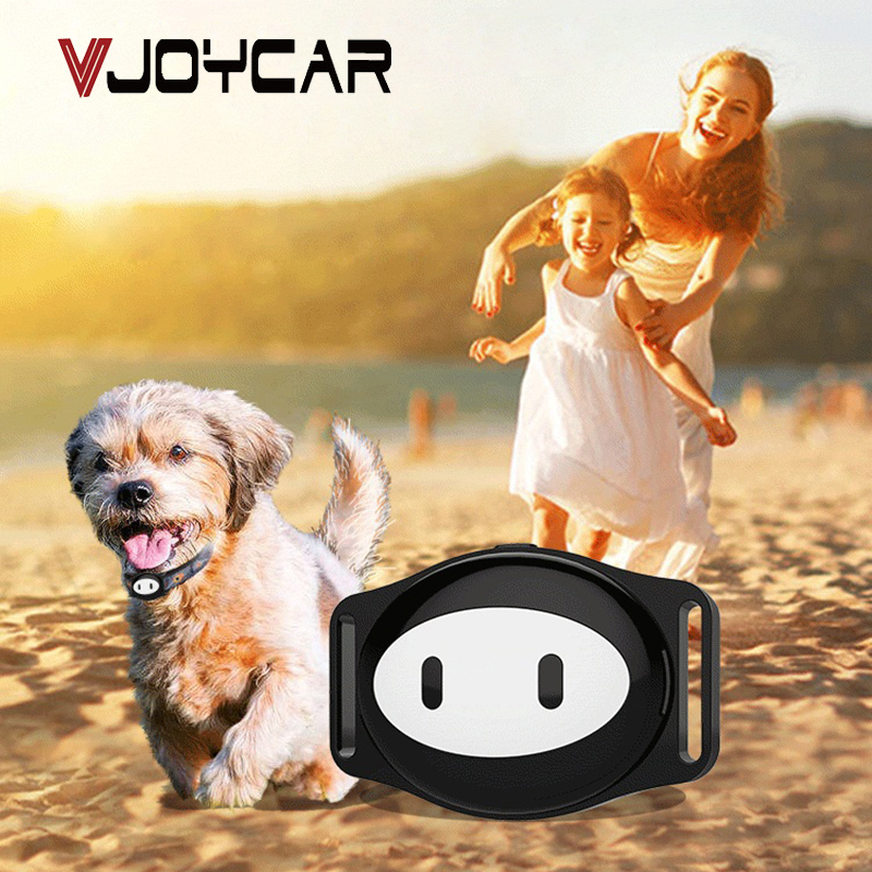 VJOYCAR D79 Pet GPS Tracker Dog Collar GPS+LBS+WiFi Location Real-time Tracking Geofence Free APP Waterproof Portable Locator mini gps tracker real time waterproof diy pet dog collars gps tracker life time free platform service charge easy to use