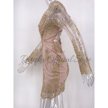 Sexy Women Mesh Sequins Summer Dress 2018 Lace Deep V Neck Backless Bandage Hollow Elegant Sundress Club Party Dresses Vestidos