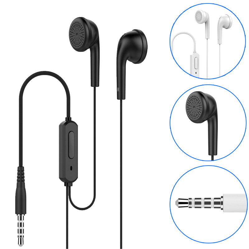Q1 Headphones 3.5mm Piston Stereo Earbuds In-Ear Earphones Metal Heavy Bass Sound With Microphone Headset For Smartphone MP3 3 5mm heavy bass stereo earphone for nokia 6700 classic gold edition earbuds headsets with microphone metal in ear earphones