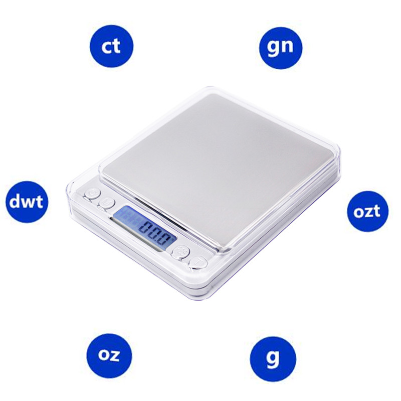 3000g x 0,1g Digitaalne taskuskaala 3kg 0.1 Juveeli kaalud - Mõõtevahendid - Foto 5