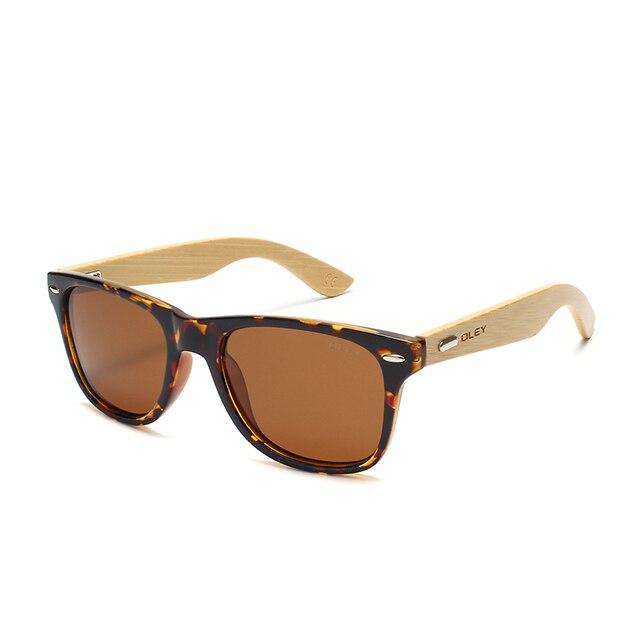 Bamboo Polarized Sunglasses Mawgie