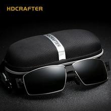 HDCRAFTER Hot-selling Men's Polarized Sunglasses Fashion Anti-UV High Quality Sun Glasseslunette de soleil E013-3