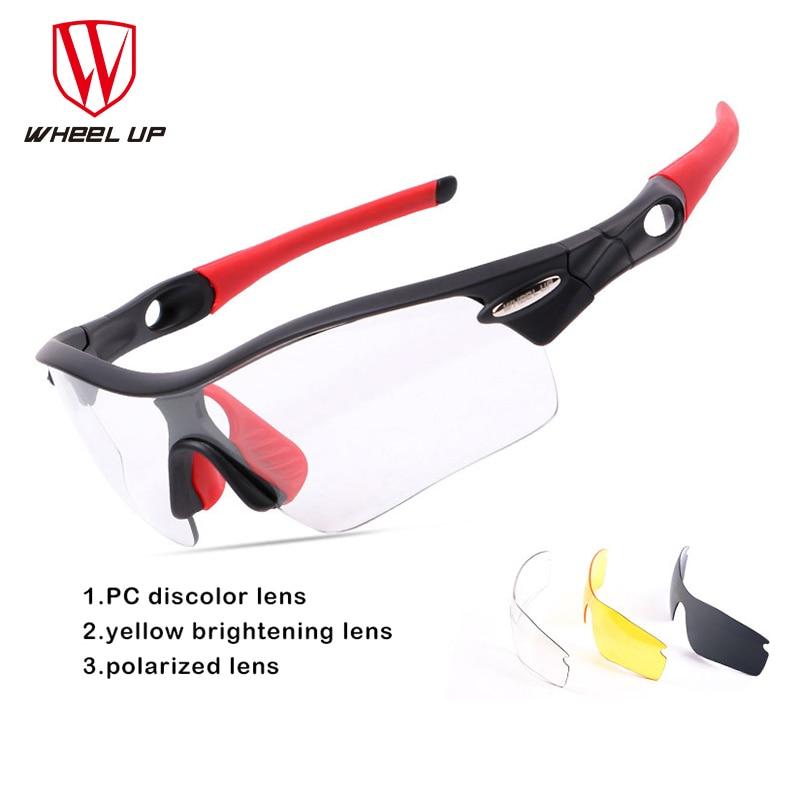 Ehrgeizig Rad Up 3 Objektiv Photochrome Fahrrad Gläser Verfärbung Reiten Angeln Brille Rennrad Outdoor Radfahren Sonnenbrillen Brillen