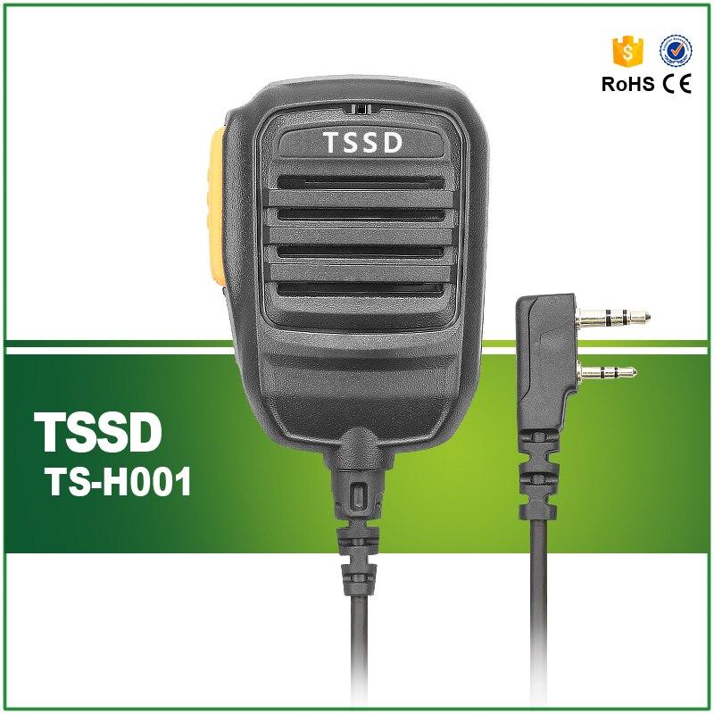 bilder für Schwere Lautsprechermikrofon TS-H001 für Baofeng Wouxun Hytera TYT Zwei-wege-radio Walkie Talkie