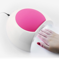 SUN2 UV LED Lamp For Nail Drying Gel Nail Dryer Polish with Auto Sensor Unique Design Rose UVLED Lamps Big Room For Finger Feet