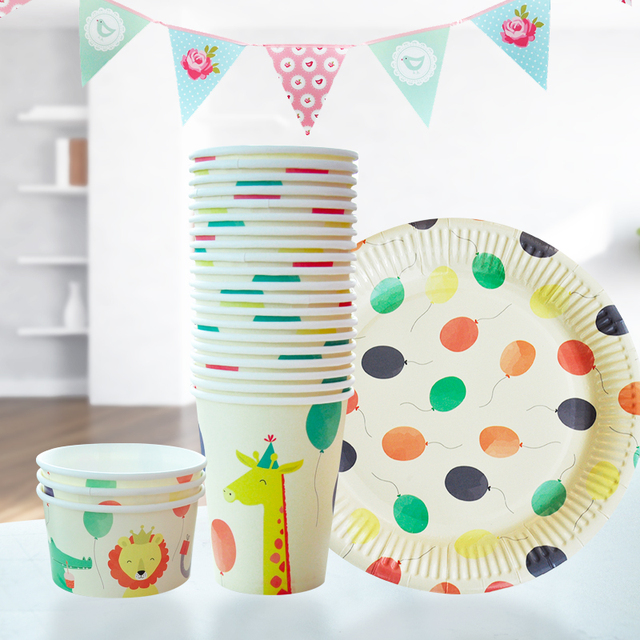 New Arrival lovely animal Paper Plates and Cups Set Birthday Party set Disposable  sc 1 st  AliExpress.com & New Arrival lovely animal Paper Plates and Cups Set Birthday Party ...