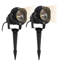 Стиль COB садовый Газон лампа свет 220 В 110 в 12 В светодиодный открытый светодиодный Спайк свет 3 Вт 5 Вт 7 Вт 9 Вт 12 Вт путь пейзаж водостойкий точечные лампы