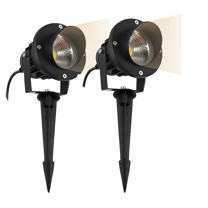 New Style COB Garden Lawn Lamp Light 220V 110V 12V Outdoor LED Spike Light 3W 5W 7W 9W 12W Path Landscape Waterproof Spot Bulbs