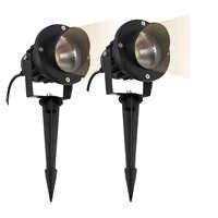 New Style COB Garden Lawn Lamp Light 220V 110V 12V Outdoor LED Spike Light 3W 5W 7W 9W 12W Path Landscape Waterproof Spot Bulbs