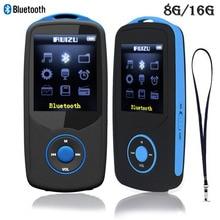 Ruizu X06 Bluetooth MP3-плееры 8 г/16 г спортивные MP3 плеера 8 ГБ с 1.8 дюйма Экран 70 h высокого качества без потерь Регистраторы FM
