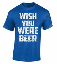 """""""Wish You Were Beer"""" men's t-shirt"""