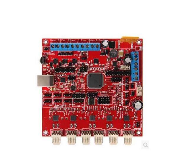 Reprap Lulzbot 3D printer parts RAMBo control board kit main board 1.2G Rambo control board