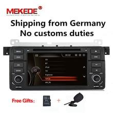 7 «2DIN Бесплатная доставка! Dvd-плеер автомобиля радио аудио для BMW E46 M3 с мультимедийной системой gps навигации 1080 P BT Камера DVR E46