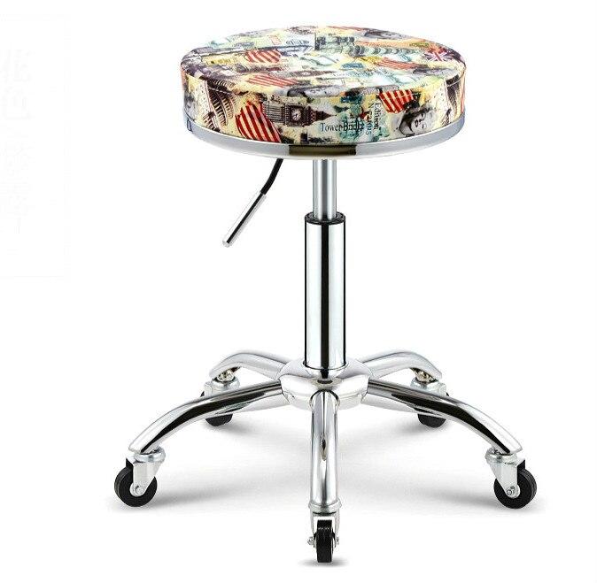 Nouveau travail de salon de chaise de beauté de mode et levage rotatoire principal de tabouret
