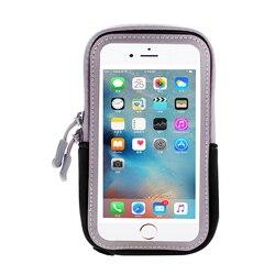 Pour Samsung Galaxy S8 SM-G9500 Sport Cas Couverture Universelle Courir GYM Workout Bras Bande Pour Samsung Galaxy S8 s7 Poche Sac 5.8