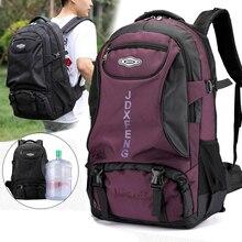 60L унисекс мужской водонепроницаемый рюкзак, дорожный рюкзак, спортивная сумка, рюкзак для альпинизма, туризма, альпинизма, кемпинга для мужчин