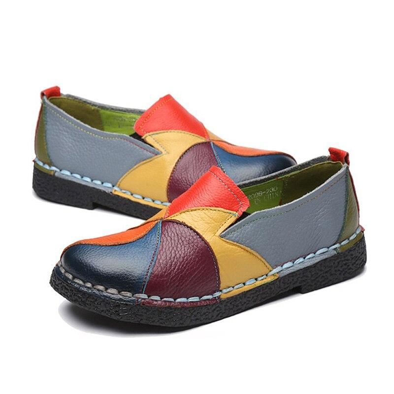 Flats Sapatos Femininos de Verão