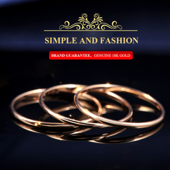 18k Gold Minimalistic Exquisite Ring 2