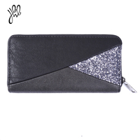 2016 Brand Women Wallets Dollar Price Purse PU Leather Card Holder Money Bag Patchwork Wallets Large