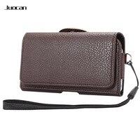Joucan Horizontal Version Cell Phone Bag For Sony Z3 Z4 Z5 Fine Lichee Pattern PU Leather