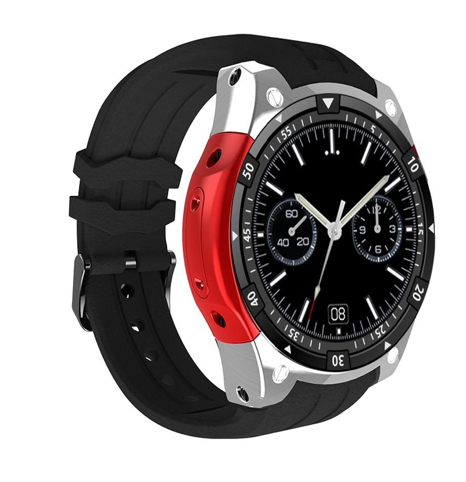 X100 Bluetooth Smart Watch Heart rate Music Player Facebook Whatsapp Sync SMS Smartwatch wifi 3G