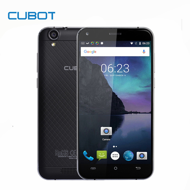 Original CUBOT MANITO 5.0 Inch HD Screen Smartphone Android 6.0 MTK6737 Quad Core Cell Phone 3GB RAM+16GB ROM Mobile Phone