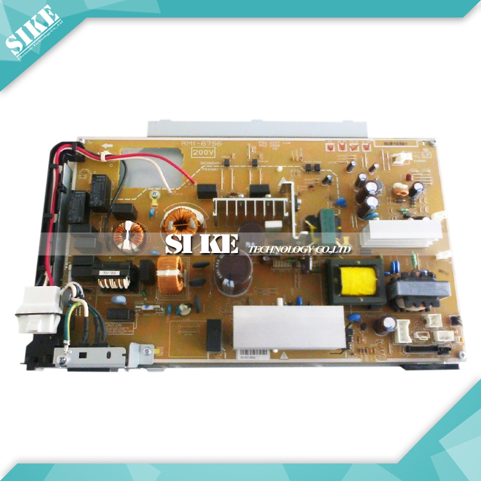 LaserJet  Engine Control Power Board For HP CP5225 CP 5225 Voltage Power Supply Board RM1-6756 RM1-6755 free shipping 100% test original for hp4345mfp power supply board rm1 1014 060 rm1 1014 220v rm1 1013 050 rm1 1013 110v