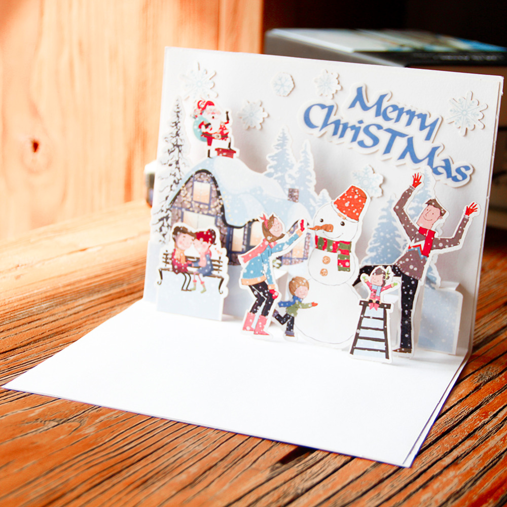 Diy merry christmas greeting card semi finished card with making diy merry christmas greeting card semi finished card with making material and double sided adhesive handmade diy christmas card m4hsunfo