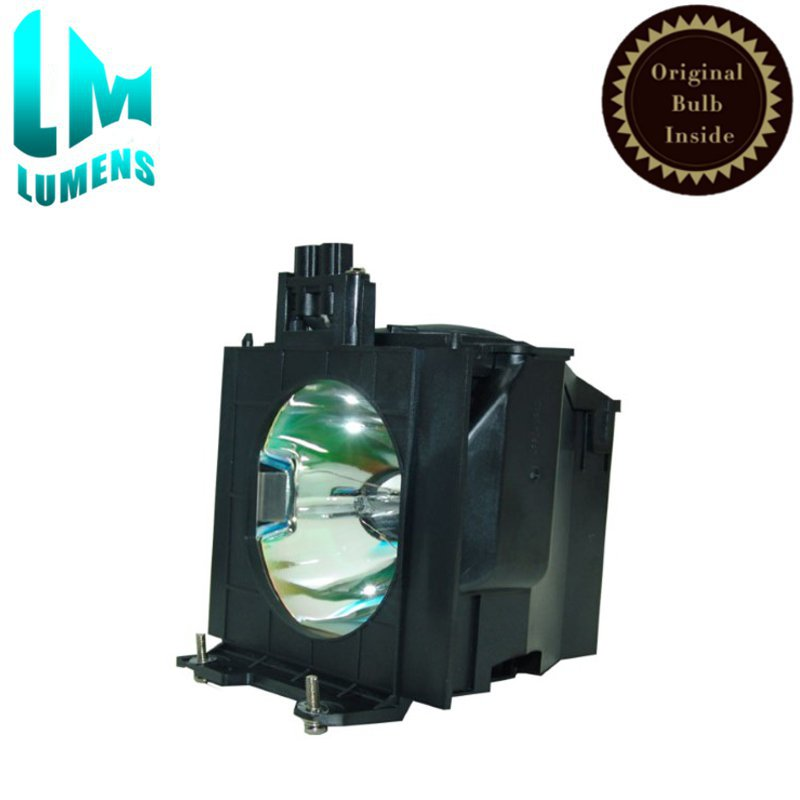 Original projector lamp ET-LAD55 bulb with housing for Panasonic PT-D5500 PT-D5600 PT-DW5000 PT-DW5000L PT-L5500 PT-L5600 projector lamp bulb et lab80 etlab80 for panasonic pt lb75 pt lb80 pt lw80ntu pt lb75ea pt lb75nt with housing