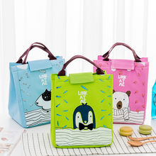 Portable Lunch Bag Tote Insulated Thermal Box Kids Cartoon Animal Pack Beach Food Picnic Bolsa Termica Women Boy Cooler Handbags(China)