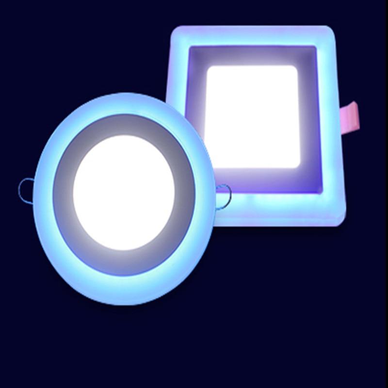 Acrílico LED empotrado Downlight Panel de luz de la pared del techo - Iluminación LED
