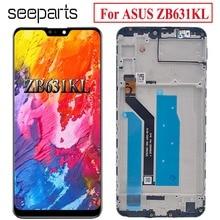 ل Asus Zenfone ماكس برو (M2) ZB631KL شاشة الكريستال السائل مجموعة المحولات الرقمية لشاشة تعمل بلمس استبدال أجزاء ل ASUS ZB631KL LCD Diplay