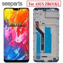 Per Asus Zenfone Max Pro (M2) ZB631KL Display LCD Touch Screen Digitizer Assembly Parti di Ricambio Per ASUS ZB631KL LCD Diplay