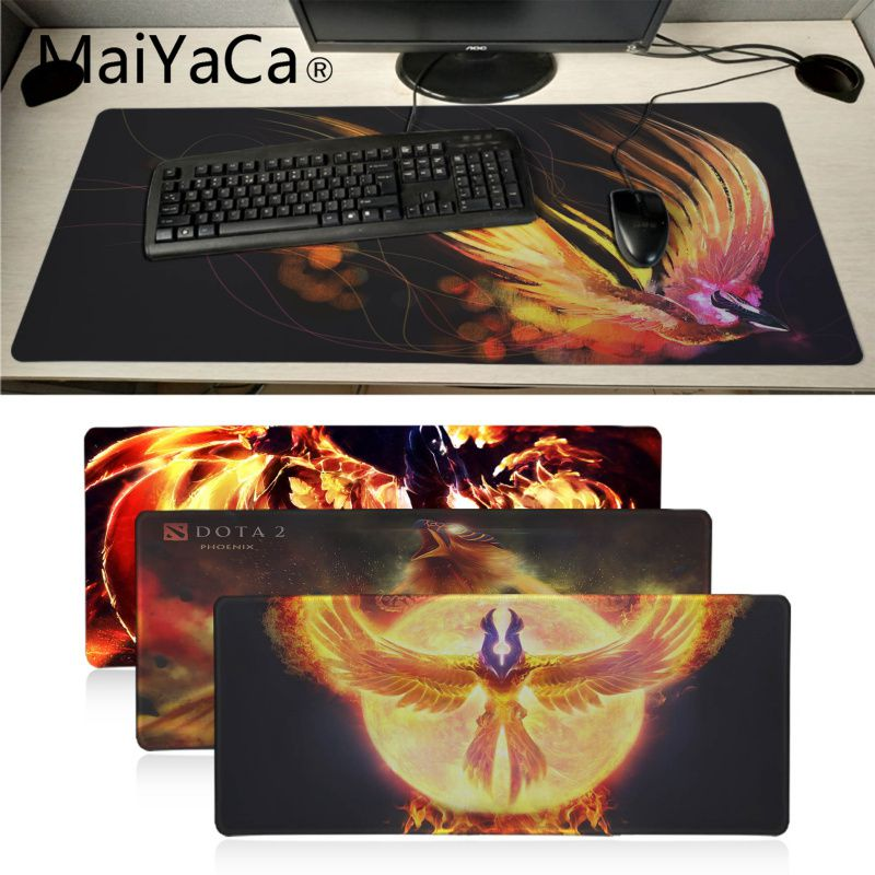 Maiyaca Vintage Cool Dota 2 Phoenix Mouse Pad Gamer Play Mats Pad To Mouse For Notbook Gamer Computer Gaming Pad Mouse Gamer