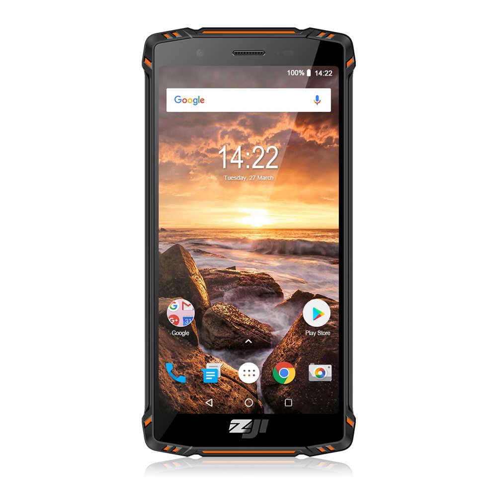Homtom ZOJI Z9 Helio P23 Octa Core 5.7 pouces IP68 coeur Rat Smartphone 6GB RAM 64GB ROM 16MP Cam 5500mAh 4G LTE téléphone portable