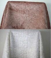 Wit Shaggy Faux Fur Stof (lange Stapel bont) kostuums Cosplay Doek Bontkraag Verkocht Door De Yard Gratis Verzending
