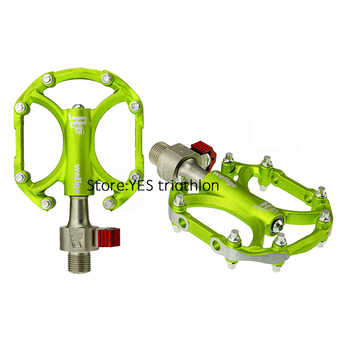 Wellgo QRD-C247 Quick Release Bicycle Pedals Road Bike Ultralight Pedal MTB Cycling Bearing Pedals