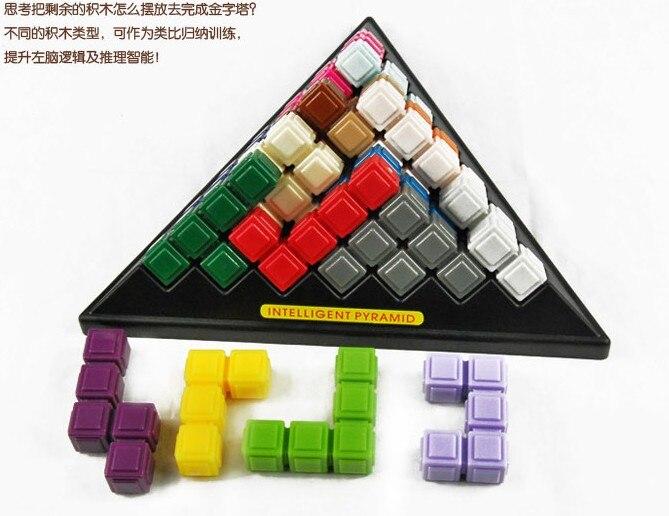 Интеллект Пирамида Мудрость Сборки Трехмерных Настольные Игры Детские Образовательные Головоломки