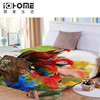 Free Shipping Digital Birds Blankets Designs Coral Blanket Bed Sheet Bedline Soft Touch Travel Thermal Blanket