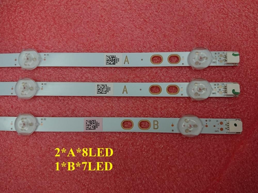 5set 15 PCS 745mm LED backlight strip for LG Bush Vestel 40 inch LB40017 17DLB40VXR1 VES400UNDS