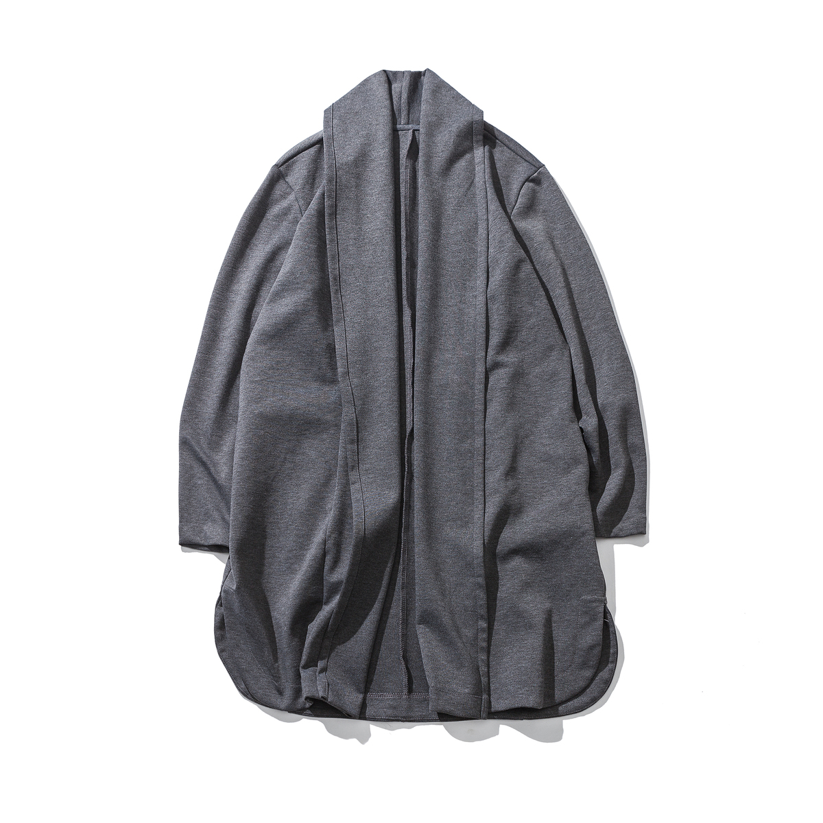 autumn the long of the men coat of the Chinese style of the large size of the loose hair stylist knitted cardigan cloak