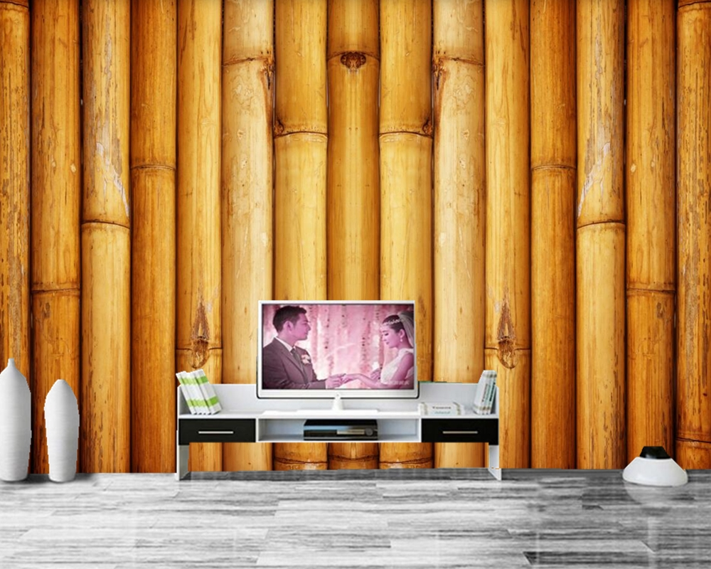 3D custom murals,Texture Bambu photo wallpaper,living room tv sofa wall bedroom restaurant kitchen papel de parede na its seoul 1000ml