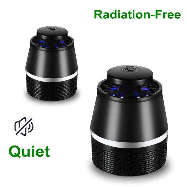 BUYBAY Brand USB Electric Mosquito Repellent LED Lights No Radiation Photocatalyst Mosquito Killer Lamp Insect Trap Light 2