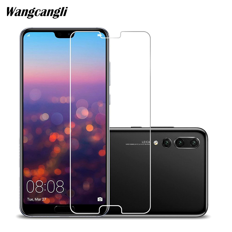 Protective Glass on the For Huawei P20 Lite P20 Pro Tempered Screen Protector 0.26mm 2.5D Edge Glass For Huawei P20 Lite Film telefoonhouder fiets