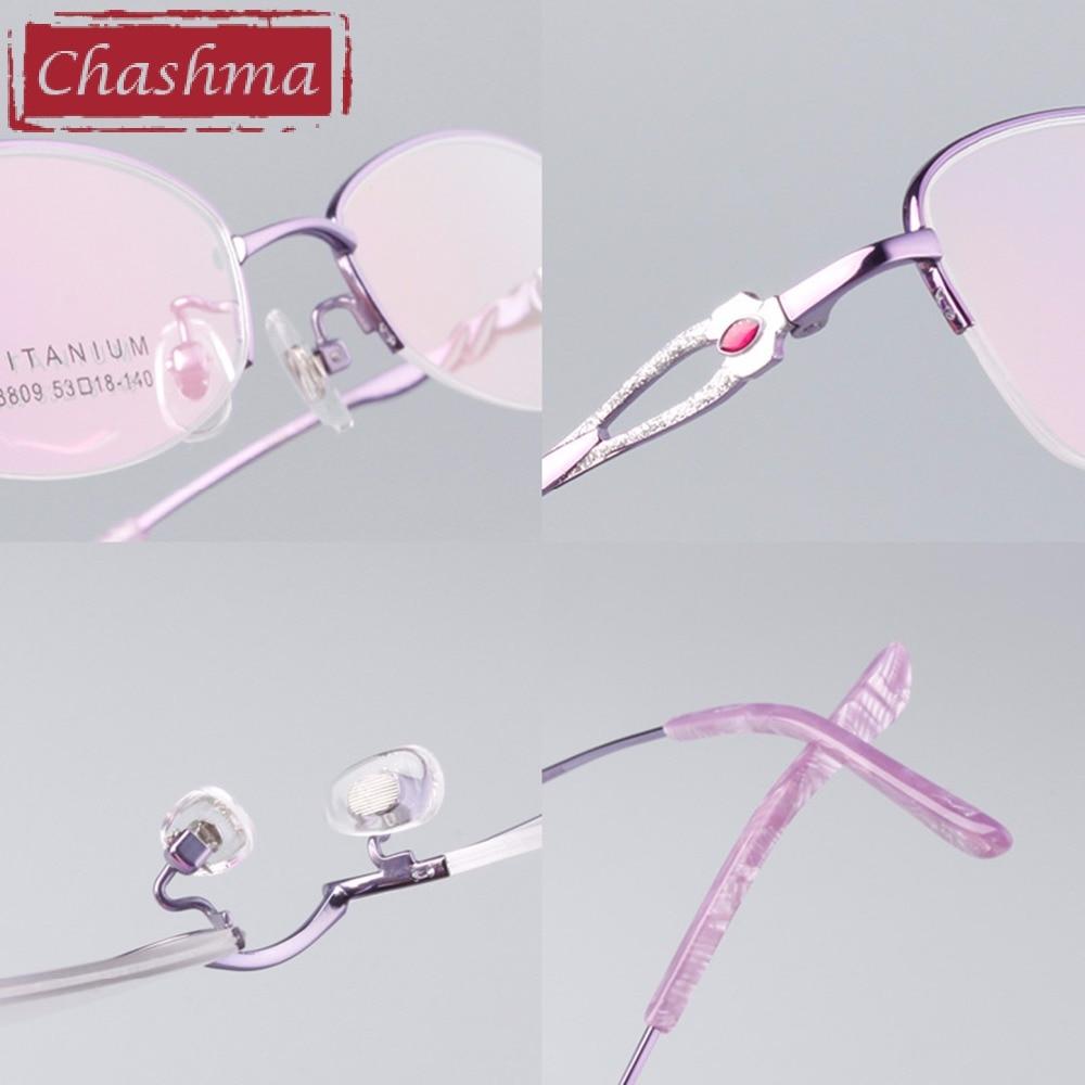 Aliexpress.com : Buy Chashma Brand Eye Glasses Women B Titanium ...