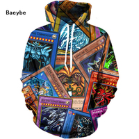 M to 3XL American flag eye lion playing card men women hoodies sweatshirt pullover hip hop autumn winter 3D printed jacket coat