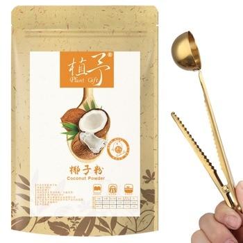 100% Pure Natural Plant coconut powder , Face Film Materials, Meal Powder, 100g Amino Acids, Calcium, Zinc, Vitamin C