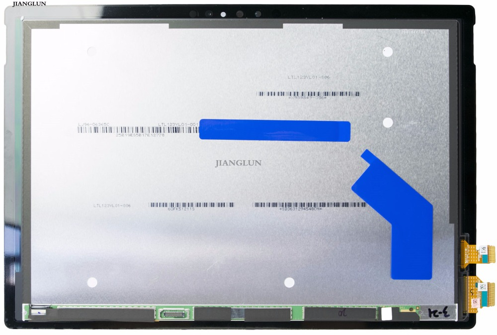 JIANGLUN LCD Screen + Digitizer Assembly For Microsoft Surface Pro 4 1724 12.3 for microsoft surface pro 4 assembly lcd displays screen touch screen